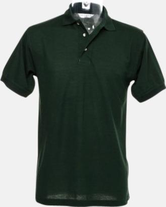 Bottle Green Arbetspikétröjor i många färger - med reklambrodyr