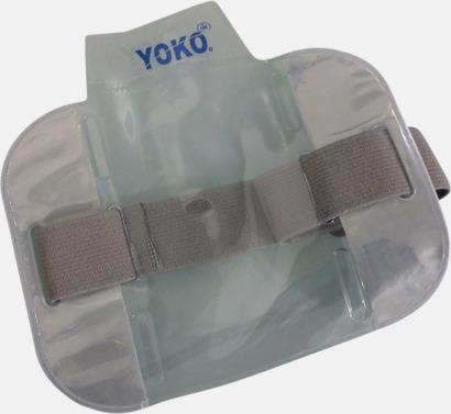 Silver Vattentäta ID-armband med reflex