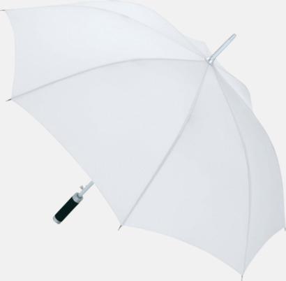Vit Paraplyer med tryck
