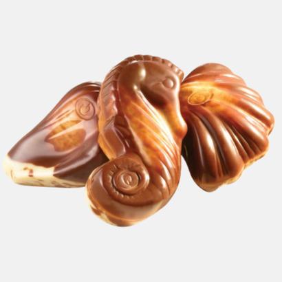 De klassiska choklad sjöfrukterna från Guylian