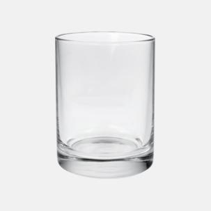 Stapelbara cylinerglas med reklamtryck