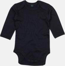 Ekologiska bodysuits med korta eller långa ärmar - med reklamtryck
