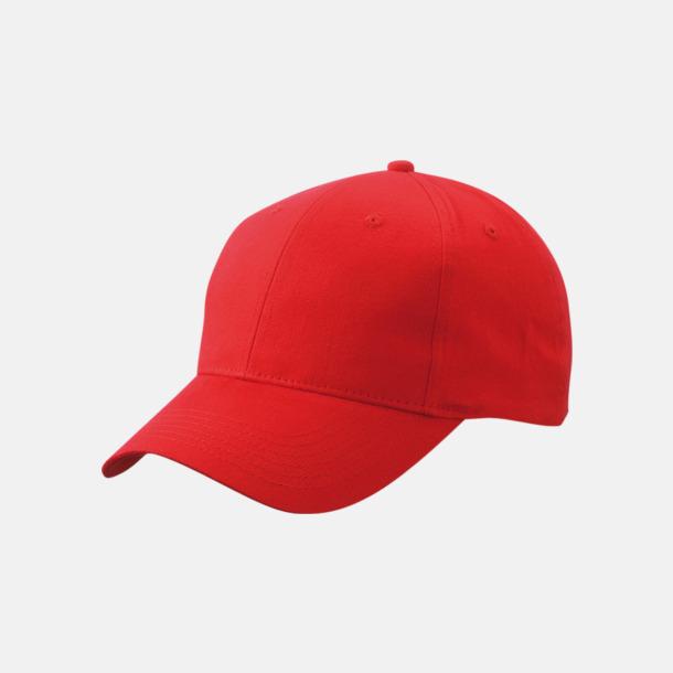 Röd Trendig keps med egen brodyr eller tryck