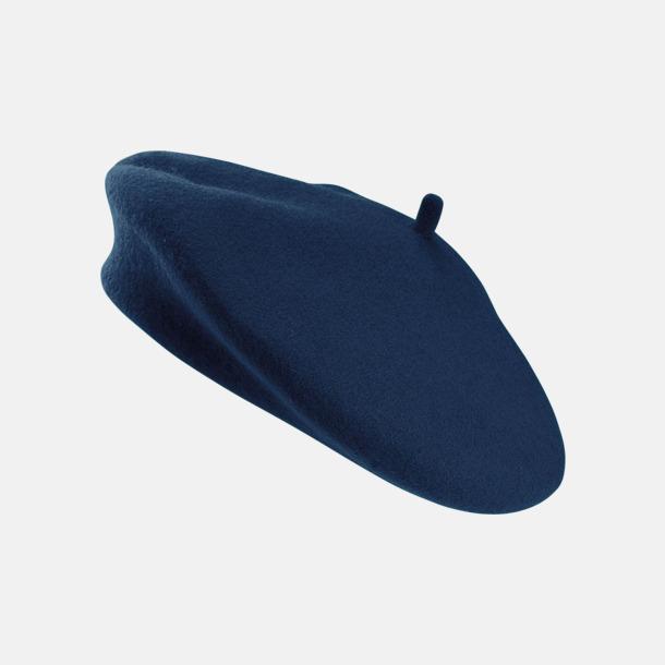 Marinblå Klassiska baskrar med reklambrodyr