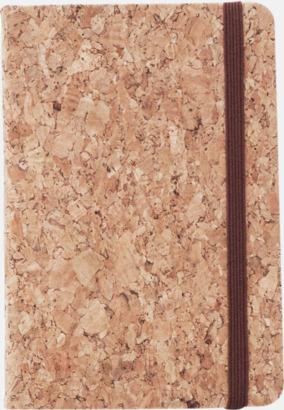A6 Anteckningsböcker med rutat papper i A5 & A6-format med reklamtryck