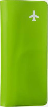 Apple green (PMS 368C) Billiga resefodral med tryck