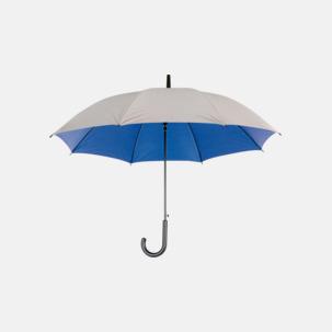 Paraplyer med färg på insidan - med reklamtryck