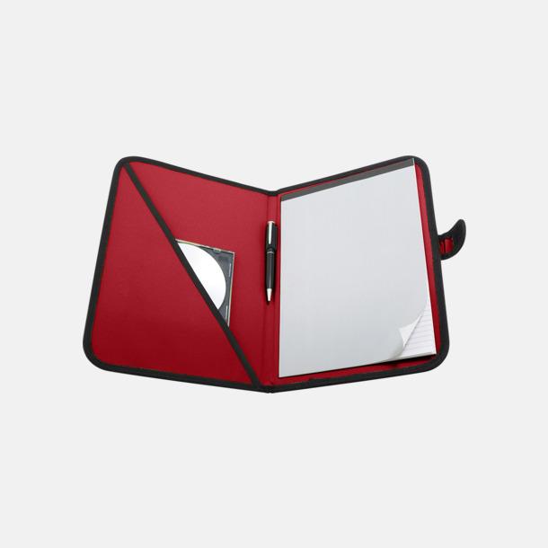 Röd Färgglada konferensmappar med eget tryck