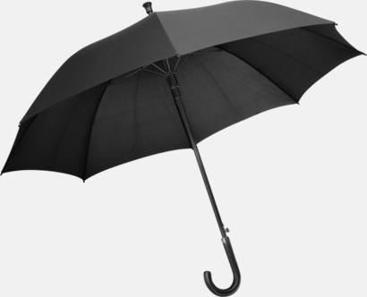 Svart Automatiska paraplyer från