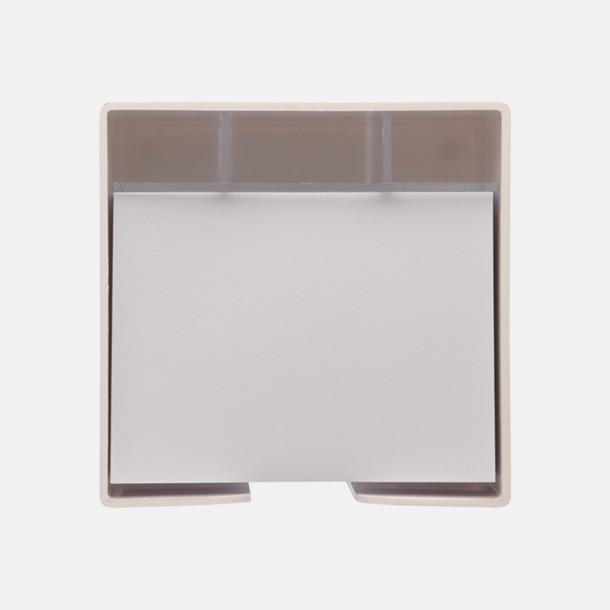 Plastbox med pennfack och papperskub i mitten