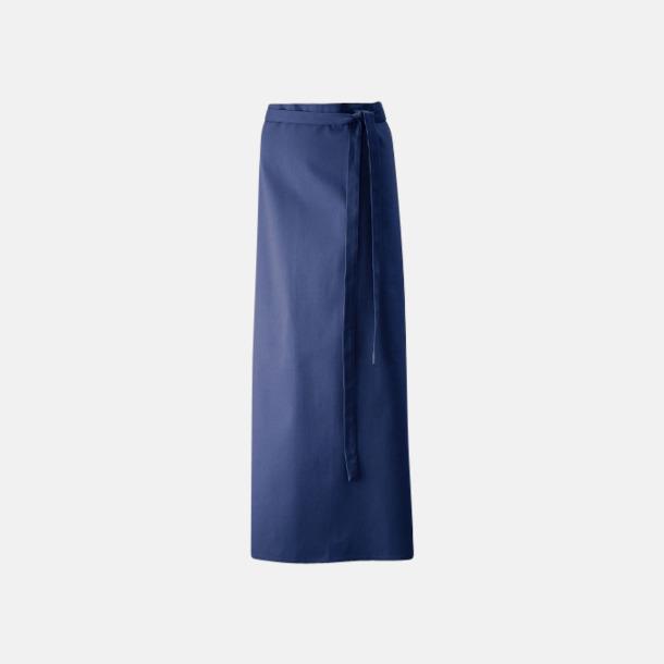 Marinblå (100 x 100 cm) Förkläden i 5 varianter med reklamtryck