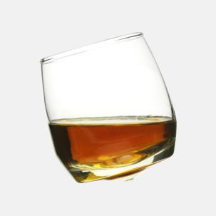 Whiskyglas med rundad botten från Sagaform med eget tryck hos oss på Medtryck