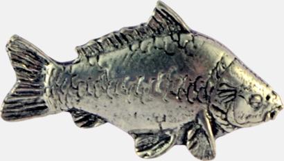 Spegelkarp Engelska, handgjorda broscher med jaktmotiv