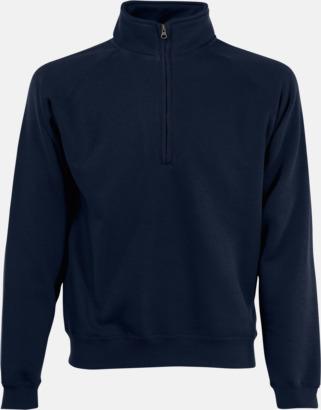 Deep Navy Sweatshirt med tryck
