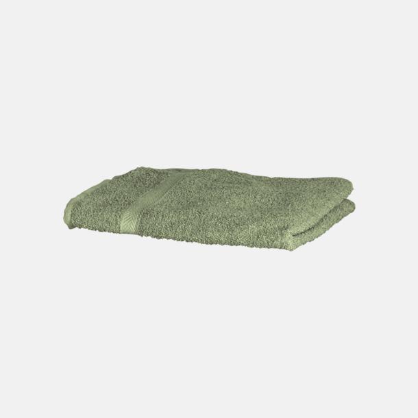 Moss Green Exklusiva handdukar med egen brodyr