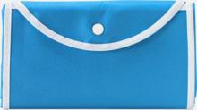 Vikbara non woven-påsar med knäppning - med reklamtryck