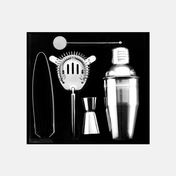 Cocktail set med tryck eller gravyr