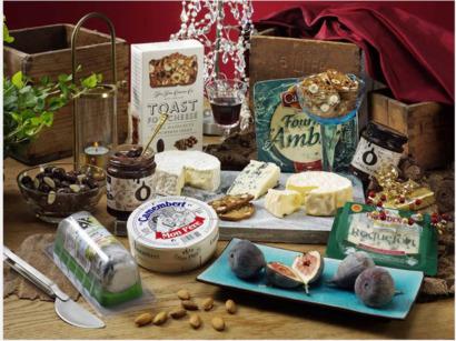 Komplett ostbricka i presentkartong