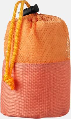 Orange Handdukar för rengöring av bilen - med reklamtryck