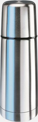 Stålgrå (30 cl) Köldtålig termos med egen gravyr