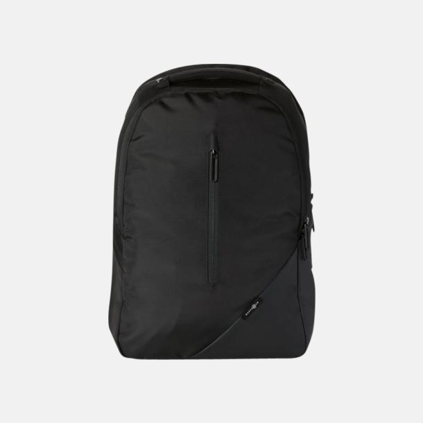 """Svart Exklusiva 15,4"""" laptopryggsäckar med reklamtryck"""
