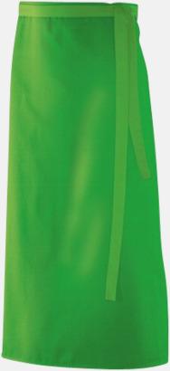 Lemon Green (90 x 60 cm) Förkläden i 5 varianter med reklamtryck