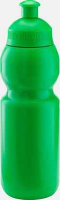 Grön (300 ml) Bulb-vattenflaskor i 4 storlekar med digitaltryck