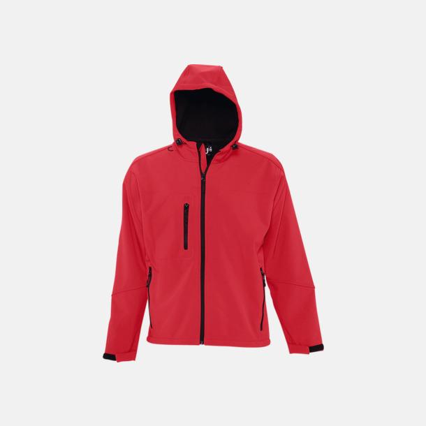 Pepper Red (herr) Softshell jackor i herr-, dam- & barnmodell med reklamtryck