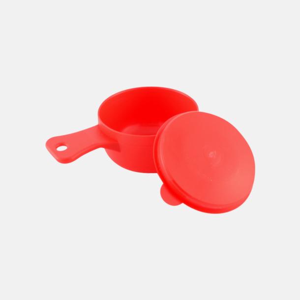 Röd Liten campingkåsa med tryck