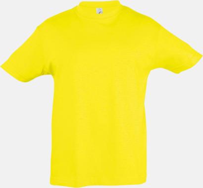 Lemon Billig barn t-shirts i rmånga färger med reklamtryck