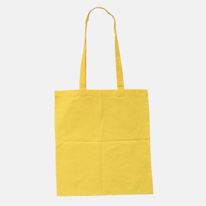 Yellow (pms 115U) Billiga tygkassar med tryck