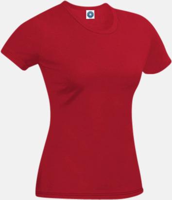 Cardinal Red T-shirt i ekologisk bomull