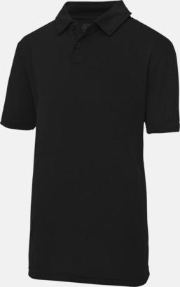 Jet Black Barnpikétröjor i många färger - med reklamtryck