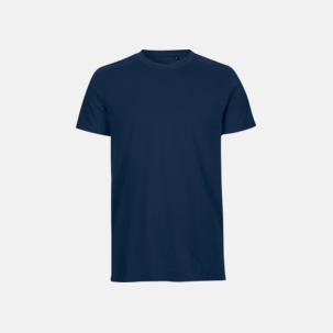 Fitted t-shirts i ekologisk fairtrade-bomull med tryck
