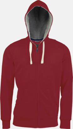 Vintage Red (herr) Kvalitetströjor i herr- & dammodell med reklamtryck