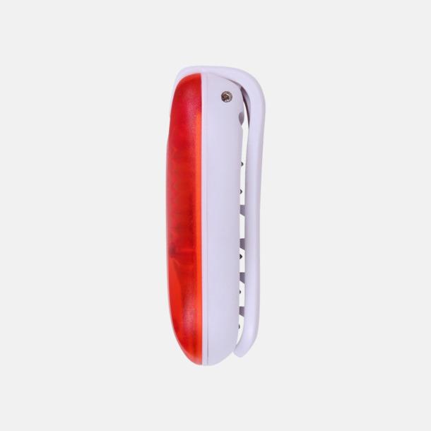Blinkande eller statiskt ljus att fästa på väskan, bältet, m.m.