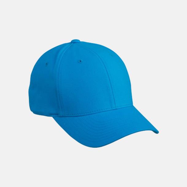 Turquoise Flexfitkeps med egen brodyr