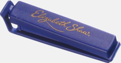 Koboltblå (80 mm) Påsklämmor i 4 storlekar med reklamtryck