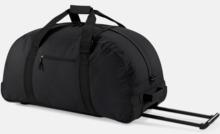 Resväska med hjul - med reklamtryck