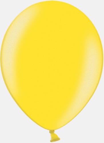 117 Bright yellow pms 123 Reklamballonger med fototryck
