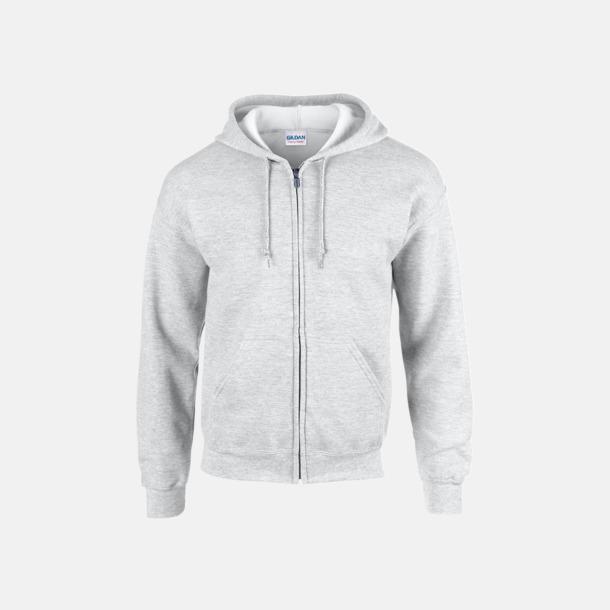 Ash (heather) Heavy Blend-tröja i herrmodell med reklamtryck