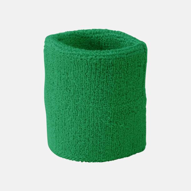 Grön Armsvettband med brodyr