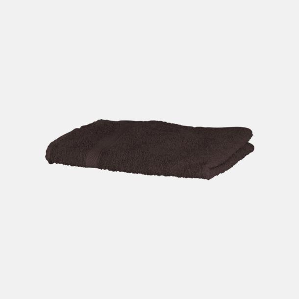 Chocolate Exklusiva handdukar med egen brodyr