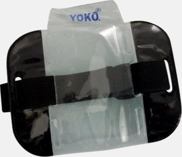 Svart Vattentäta ID-armband med reflex