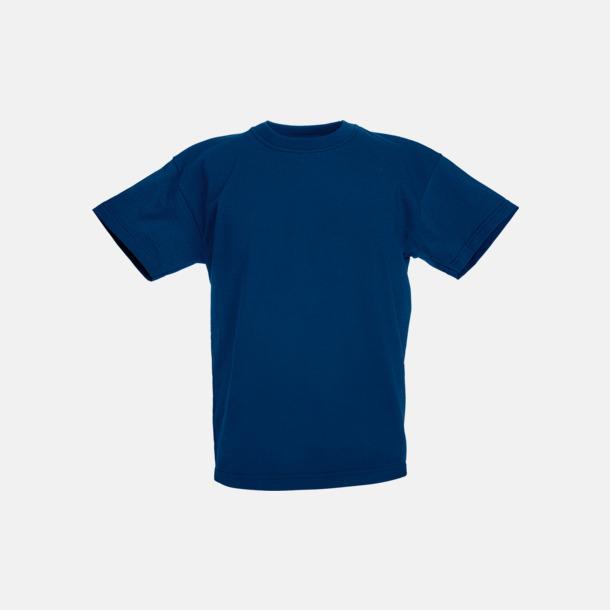 Marinblå T-shirt barn - Valueweigth barn t-shirt