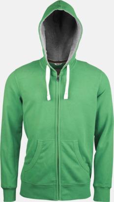 Vintage Green (herr) Kvalitetströjor i herr- & dammodell med reklamtryck