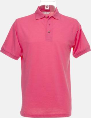Deep Pink Arbetspikétröjor i många färger - med reklambrodyr