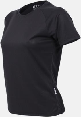 Svart Sport t-shirts i många färger - med reklamtryck