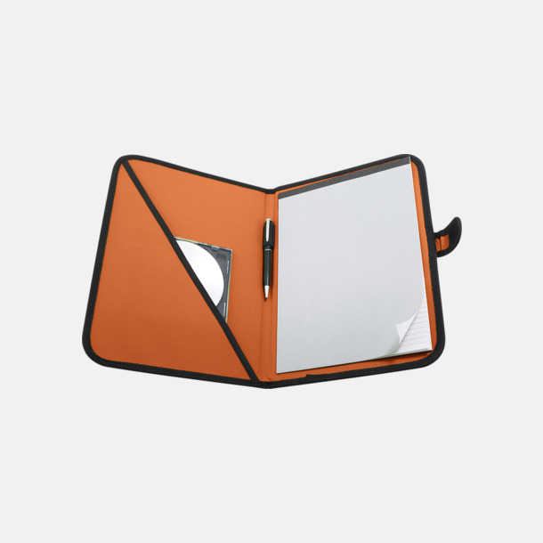 Orange Färgglada konferensmappar med eget tryck