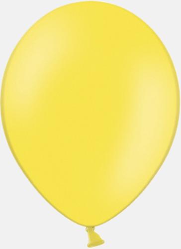 005 Yellow pms 106 Reklamballonger med fototryck